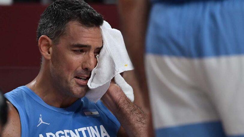 """Luis Scola: """"Le agradezco a la camiseta, me voy en paz"""""""