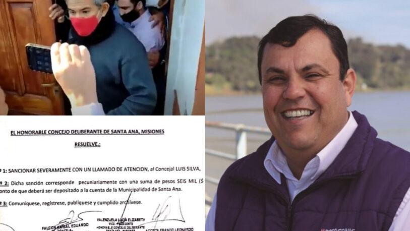 """Santa Ana: La sanción al edil Silva, """"es un mensaje cuasi mafioso"""" y una """"típica maniobra kirchnerista y renovadora"""""""