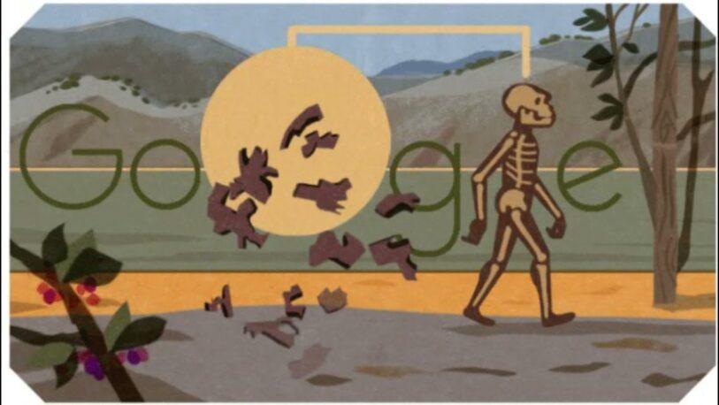 Google celebra con un Doodle el descubrimiento del humano de Turkana