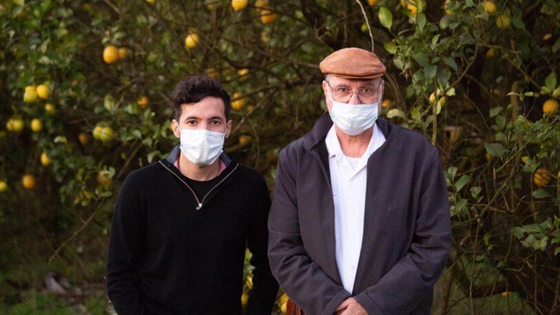 Pedro Puerta visitó al productor citrícola Ricardo Ranger