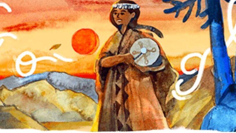 Quién era Aimé Painé, la princesa mapuche que recordó el doodle de hoy