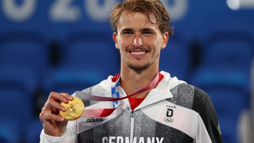 Zverev ganó la medalla de oro en tenis masculino