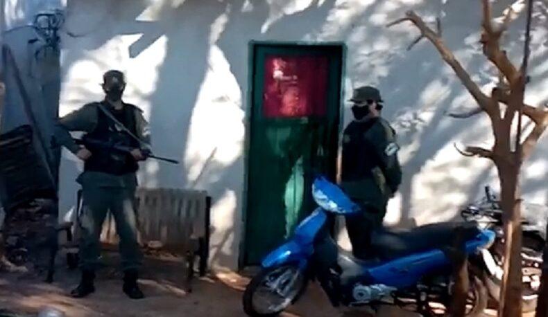 Allanamientos por narcotráfico en una vivienda de Villa Cabello