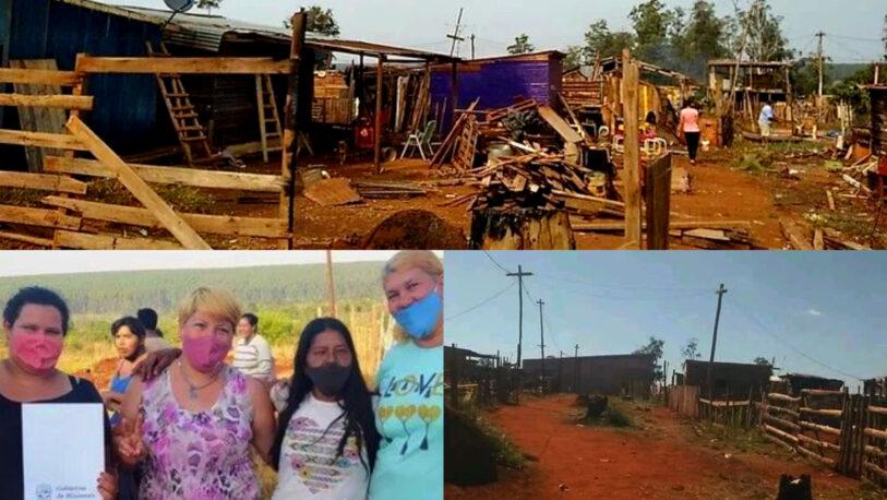 """Organizaciones sociales K, bautizaron un asentamiento informal con el nombre """"Alberto Fernández"""""""