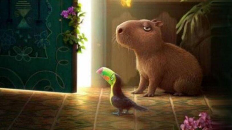 Los carpinchos serán los protagonistas de la nueva película de Disney