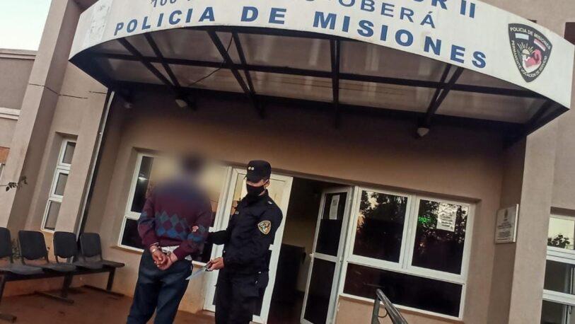 Detuvieron a un hombre acusado de agredir a su concubina embarazada en Oberá
