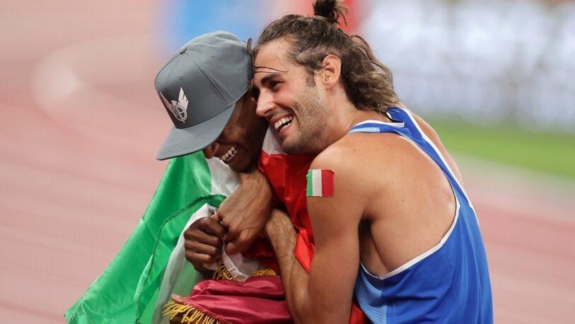 Dos deportistas no quisieron competir más y se repartieron el oro olímpico
