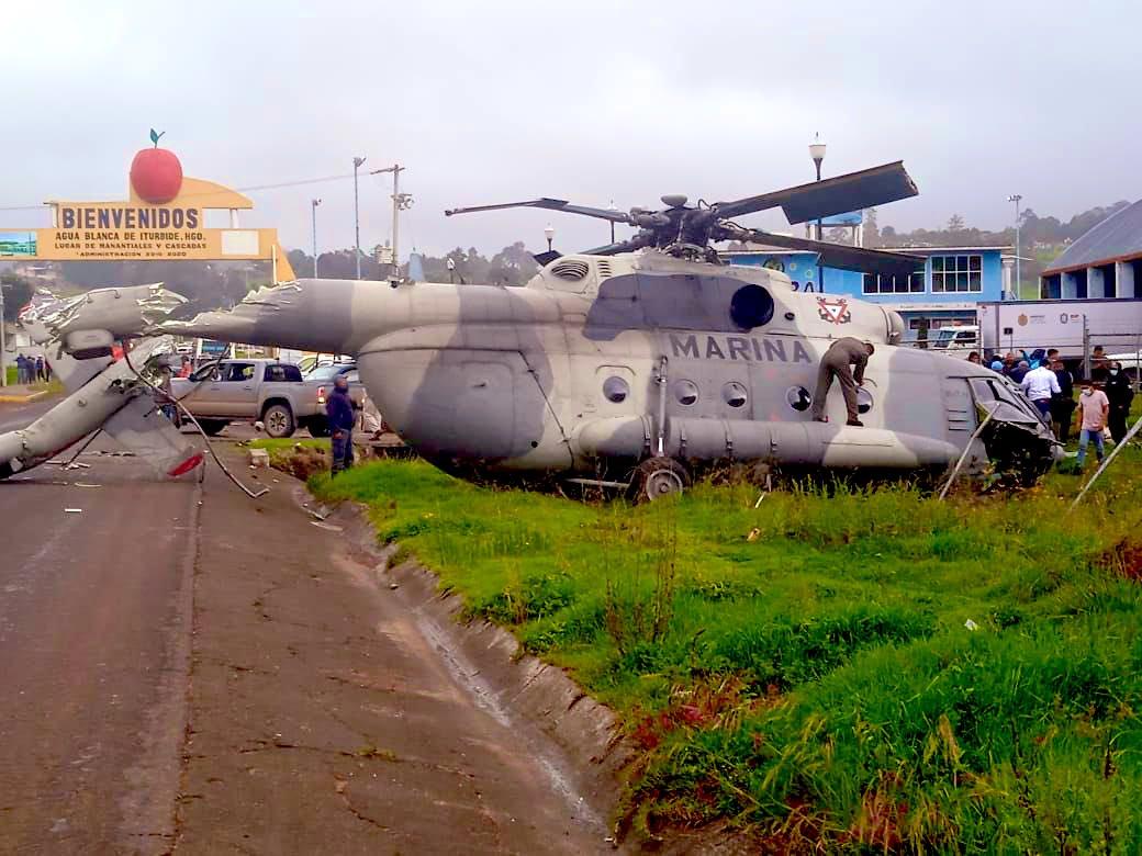accident / incident aviation de combat et (ou) de transport militaire - Page 10 Helicoptero-mexico