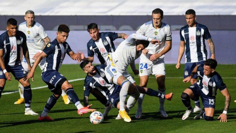 Boca igualó ante Talleres y aún no logra ganar en el torneo