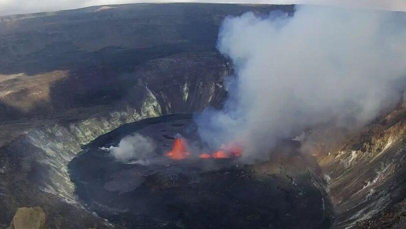 Alerta en Hawái: entró en erupción el volcán Kilauea