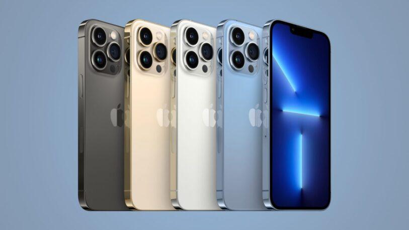 Apple lanzó el iPhone 13