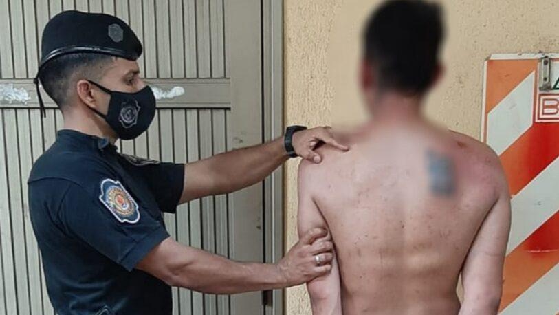 Borracho, loco y violento: atacó a golpes y destrozo la casa de su pareja