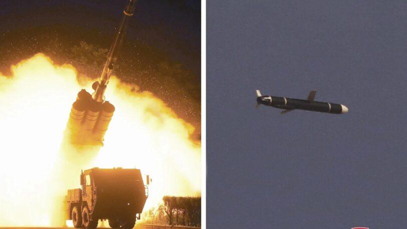 Corea del Norte lanzó un nuevo misil de crucero de largo alcance