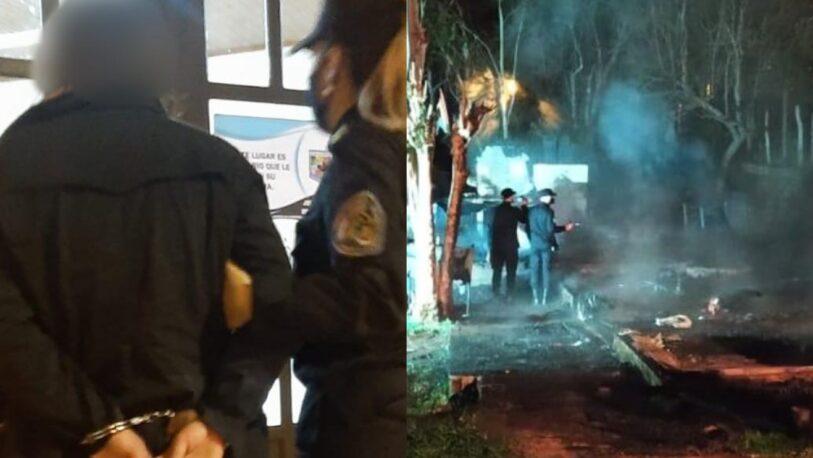 Detuvieron a una mujer por el incendio en el que murieron padre e hijo