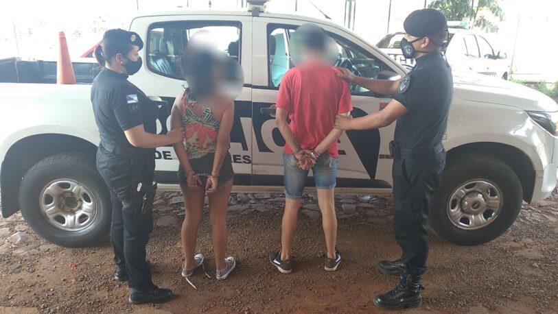 Detuvieron a una pareja que intentó robar una verdulería