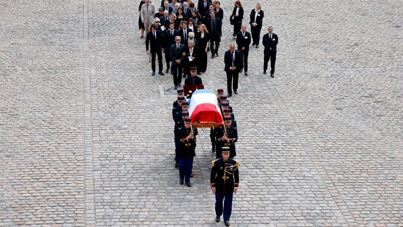 Francia despidió con emoción a Jean-Paul Belmondo