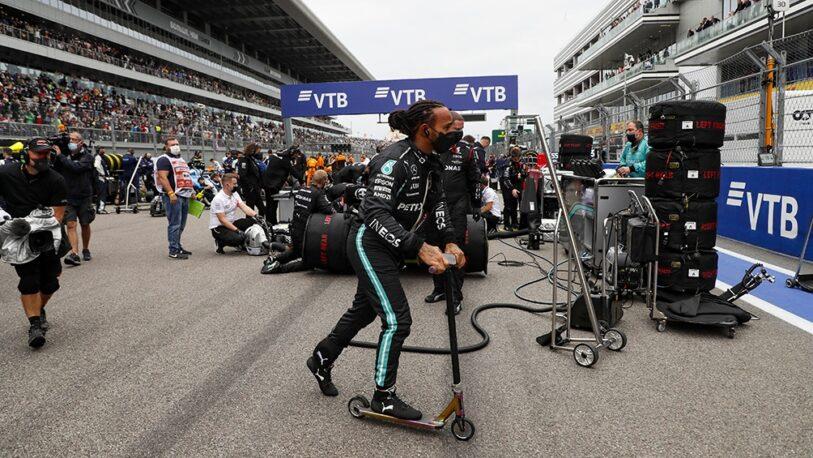 Hamilton ganó el GP de Rusia y alcanzó el récord histórico de 100 victorias