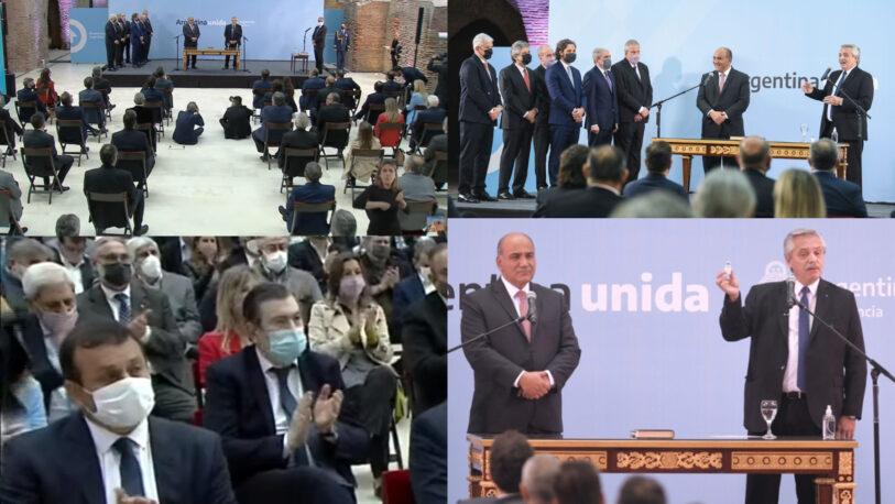 Juraron los nuevos ministros K, la apuesta de Alberto y Cristina para rescatar al gobierno