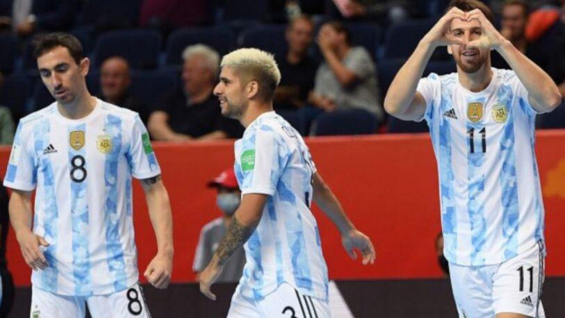 La Selección de Futsal ya se encuentra en cuartos de final