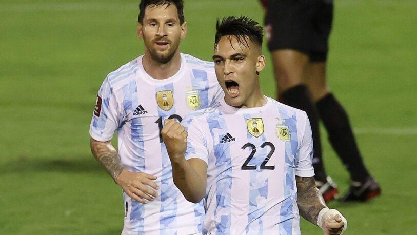 Eliminatorias Qatar 2022: Argentina goleó a Venezuela en Caracas