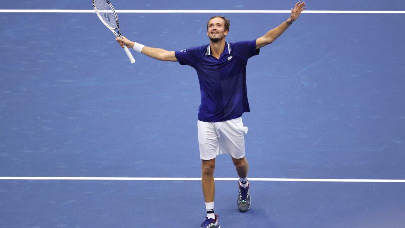 US Open: Medvedev impide que Djokovic haga historia