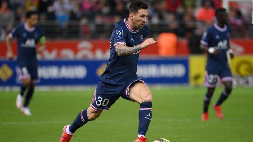 Messi hará su debut en Champions con el PSG