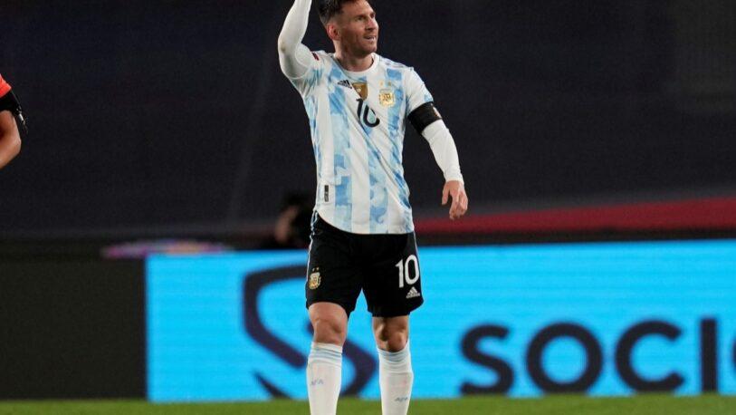 Messi superó el récord de Pelé