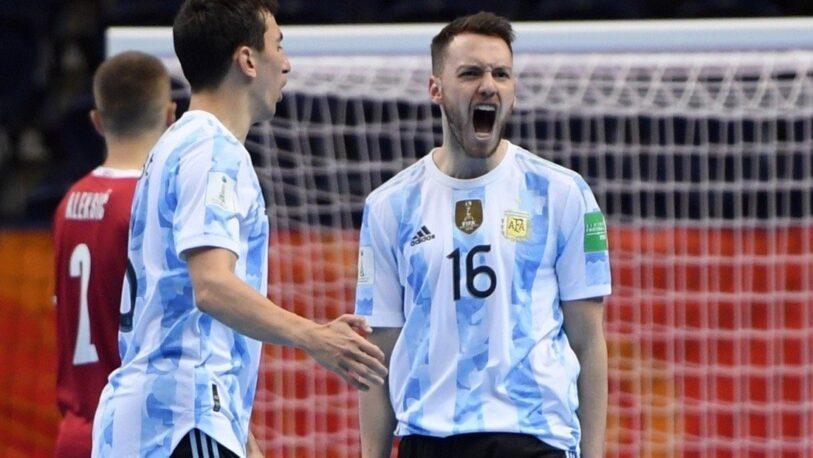 Mundial de Futsal: Hoy juega la Selección