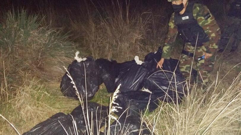 Secuestraron más de 300 kilos de droga en Santa Ana