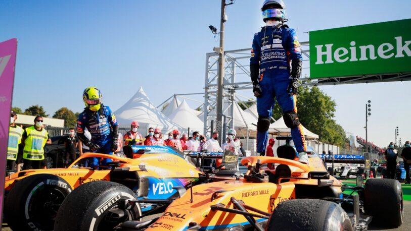 Ricciardo ganó el Gran Premio de Italia