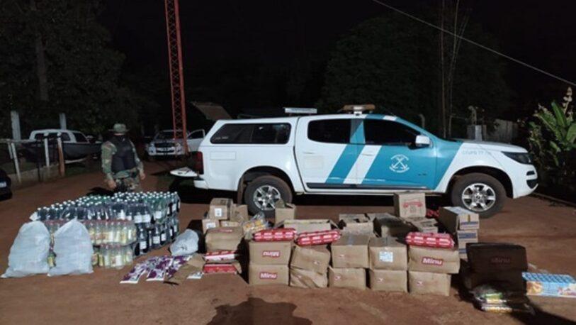 Secuestran cigarrillos y mercadería ilegal en Corpus y Alba Posse