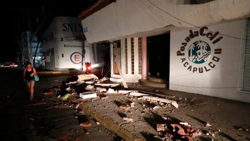 Un terremoto de magnitud 7.1 sacudió el centro de México y Acapulco