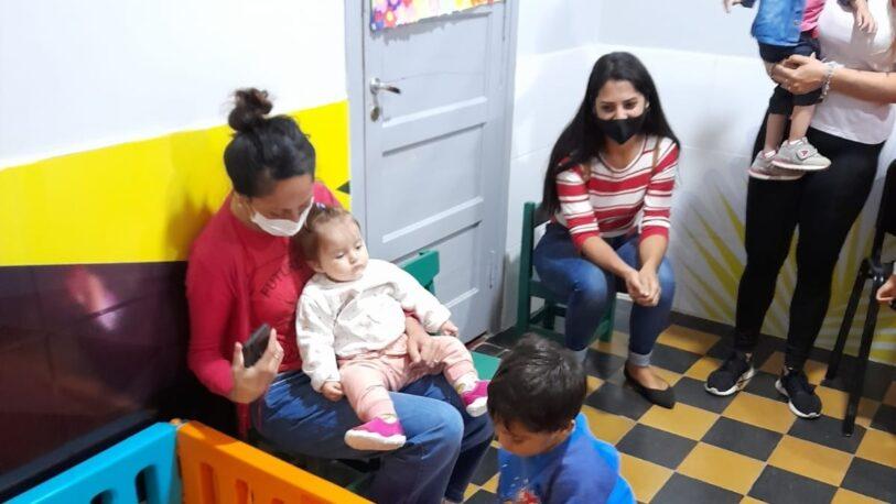 Volvieron las actividades presenciales al jardín maternal municipal