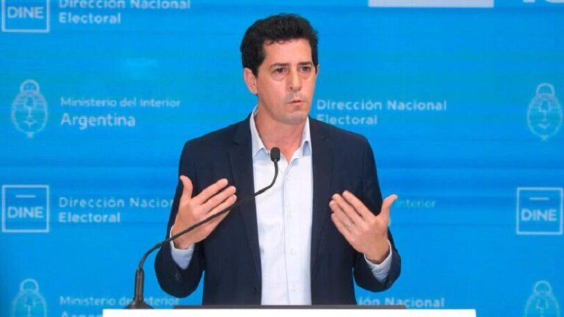 De Pedro destacó que la participación electoral superó el 67%