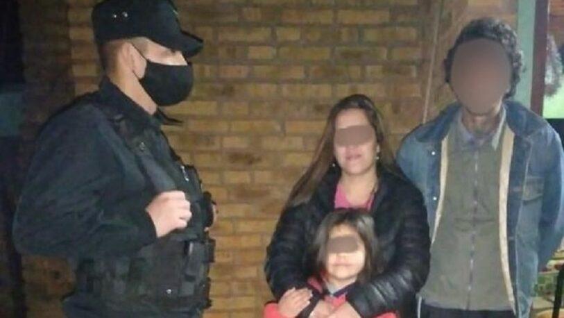 Ubicaron en San Pedro a la mujer y su hija que estaban desaparecidas