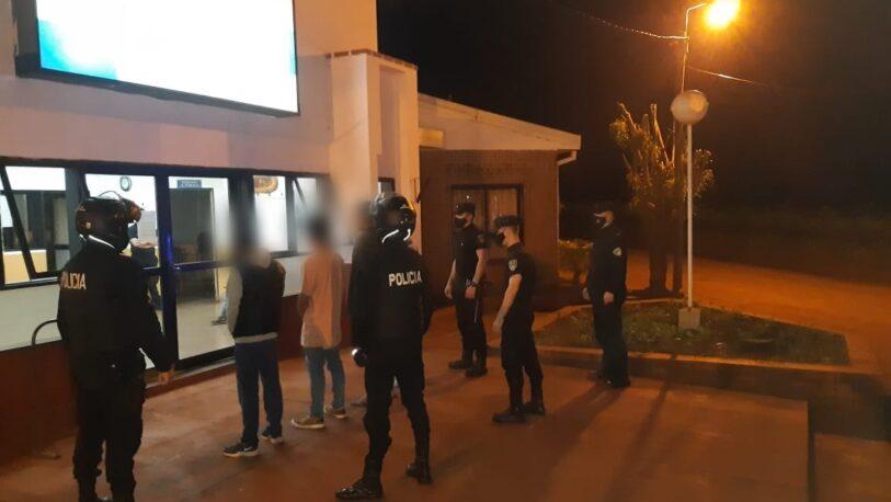 Cuatro detenidos por desvalijar una escuela de Oberá