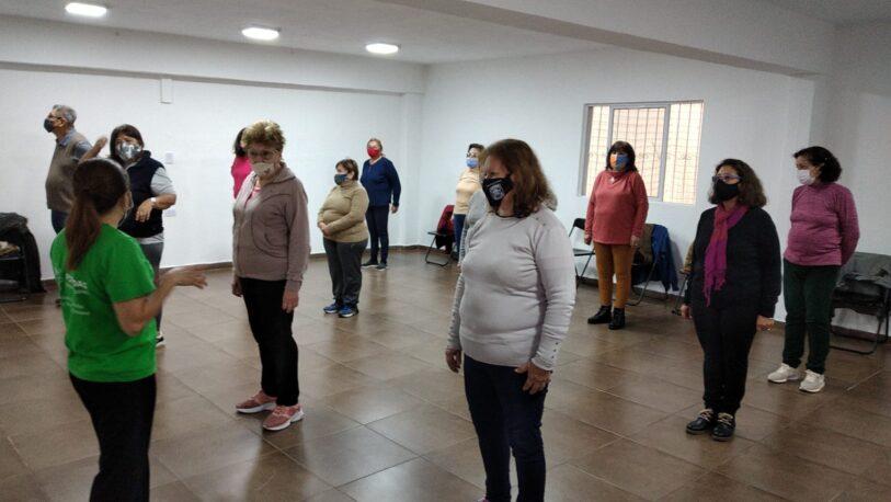 Nuevas actividades recreativas para adultos mayores en Posadas