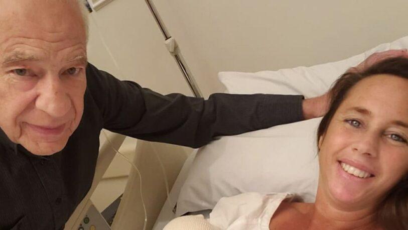 La primera foto de Emilio, el hijo del doctor Alberto Cormillot