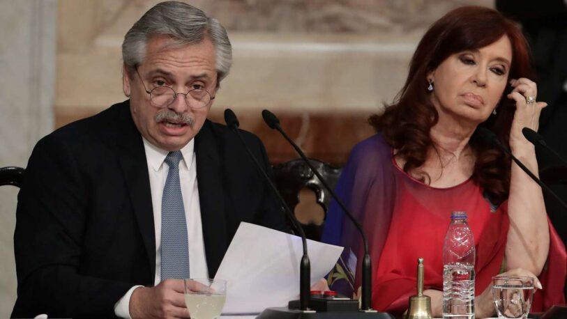 En medio de la crisis política, Alberto Fernández cruzó al kirchnerismo