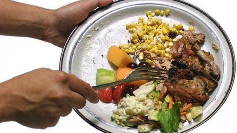 Buscan concienciar sobre el desperdicio de alimentos