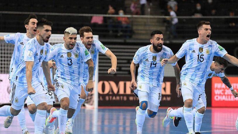Mundial de Futsal: Argentina – Brasil por un lugar en la final