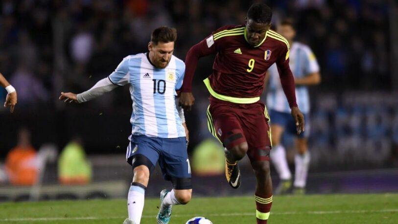 Argentina y Venezuela se enfrentan por las eliminatorias sudamericanas