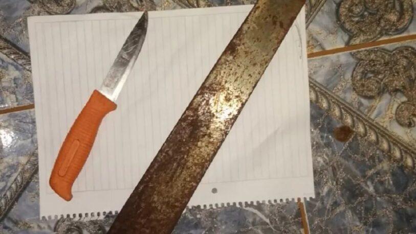 San José: Un hombre atacó a su expareja a cuchillazos y terminó herido