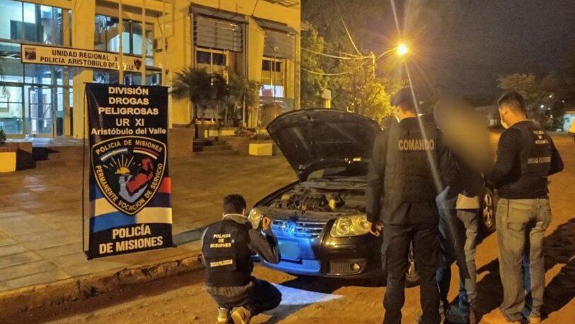 En Aristóbulo del Valle recuperaron un auto robado en Buenos Aires
