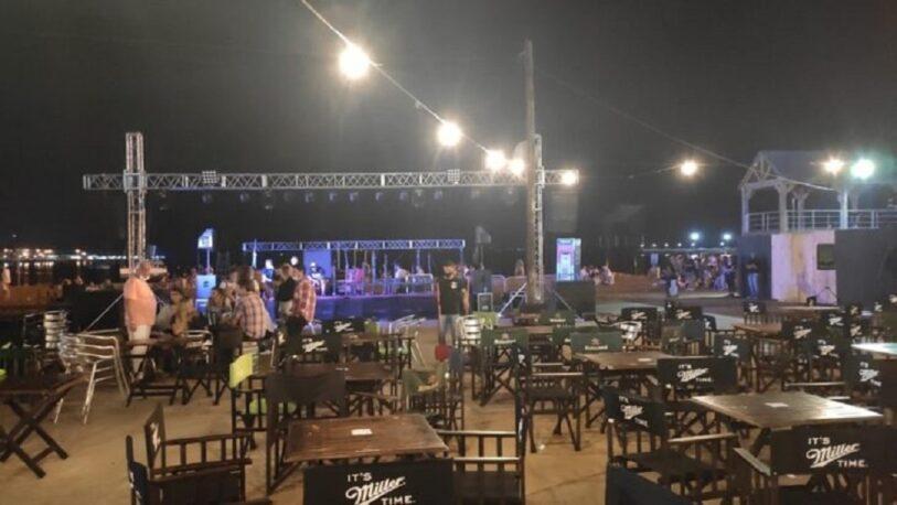 Por varias infracciones en un bar posadeño, suspendieron el recital de Los Totoras