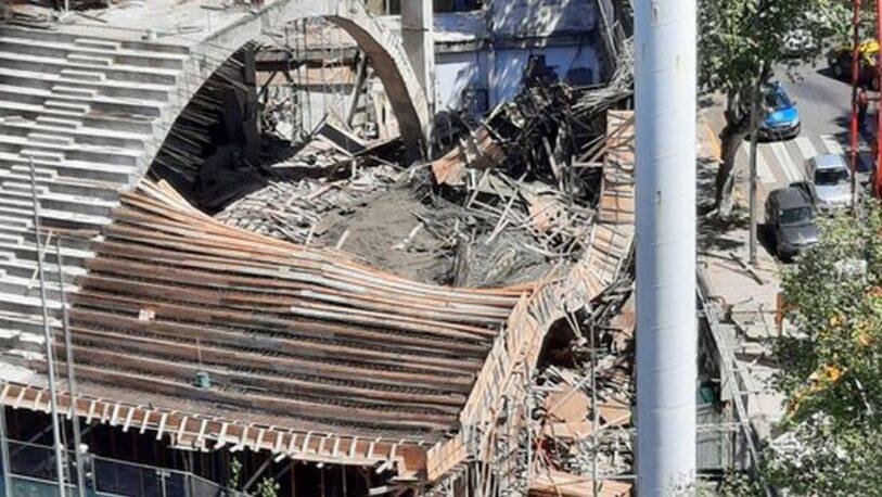 Se derrumbó un sector de la tribuna de Ferro y hay varios heridos