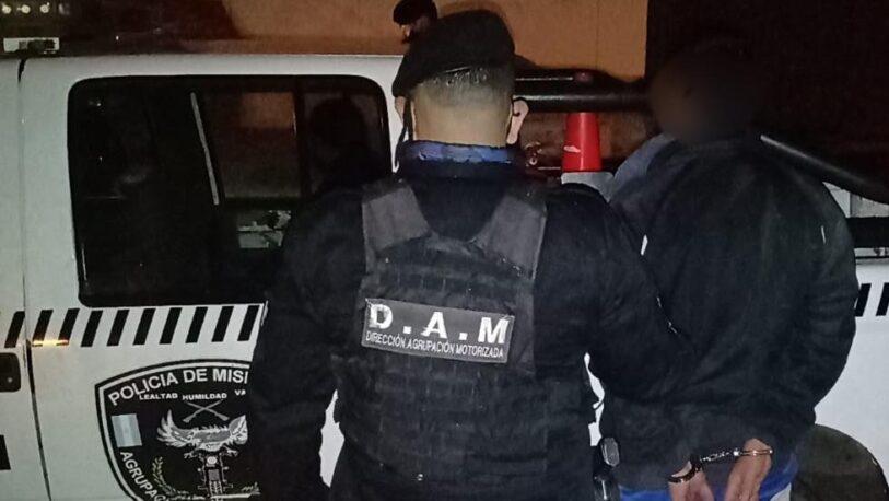 Detuvieron a un hombre que robó un balde y herramientas de una obra