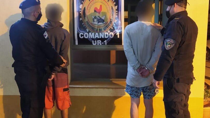Detuvieron a cuatro personas y secuestran marihuana en Posadas