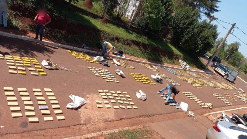 General Urquiza: Incautaron otros 290 kilos y suman 971 panes de marihuana