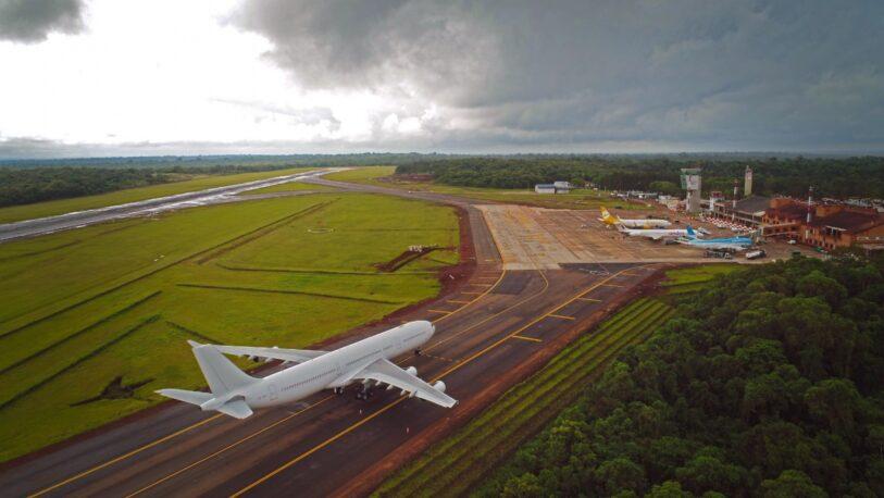 El aeropuerto de Iguazú es uno de los pasos seguros autorizados